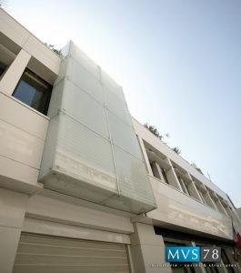 Batiment facade VEA Levallois perret Architecte M Beaudehont