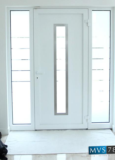Porte d'entréemaison particulière