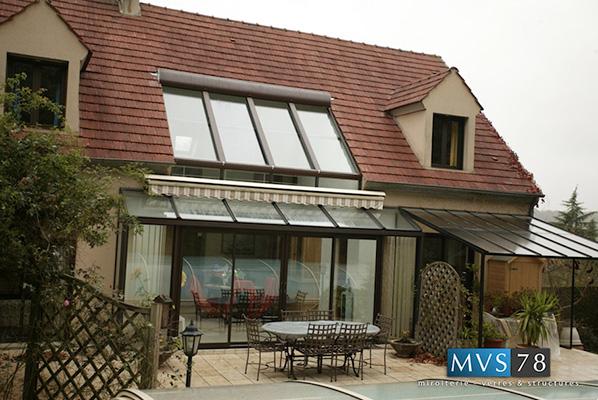 Vérandas vitrées - Miroiterie - Verres & Structures MVS 78 Yvelines