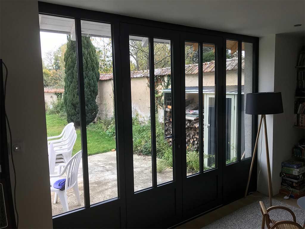 Portes vitrés balcon